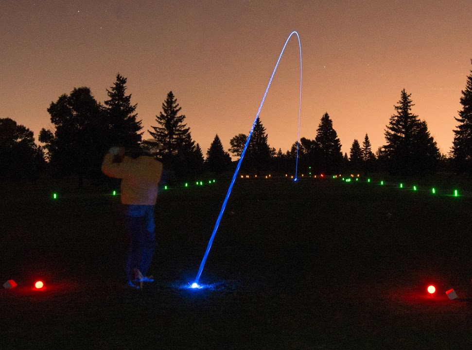 Golf course at night | Flickr - Photo Sharing!